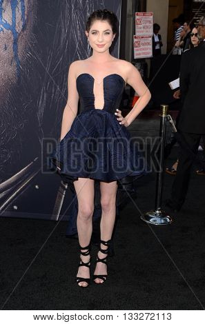 LOS ANGELES - JUN 6:  Niki Koss at the Warcraft Global Premiere at TCL Chinese Theater IMAX on June 6, 2016 in Los Angeles, CA