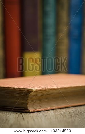 Vintage style image of an antique book