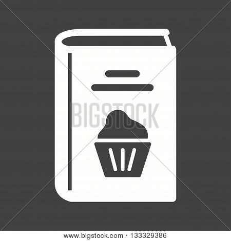 Kitchen, recipes, desserts icon vector image. Can also be used for kitchen. Suitable for use on web apps, mobile apps and print media.