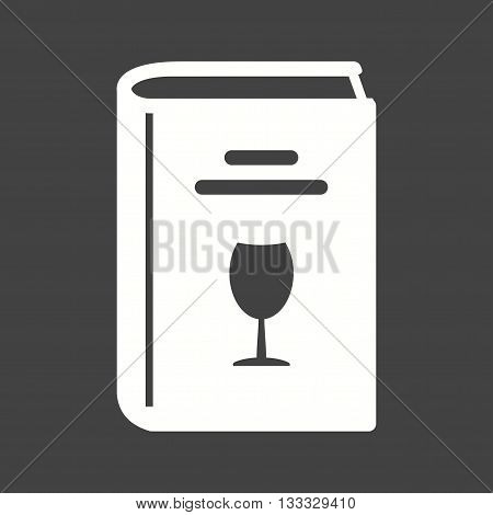 Kitchen, recipes, drinks icon vector image. Can also be used for kitchen. Suitable for use on web apps, mobile apps and print media.