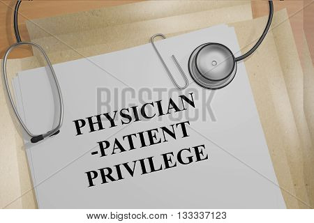 Physician-patient Privilege Medical Concept