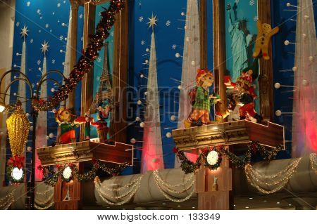 Christmas Building Decoration