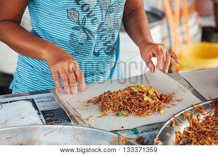 Street Food At Kimberly Street Food Night Market