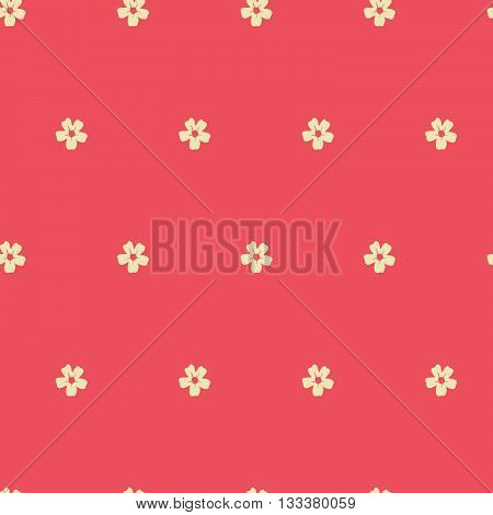 Delicate pattern in small flowers. shabby chic