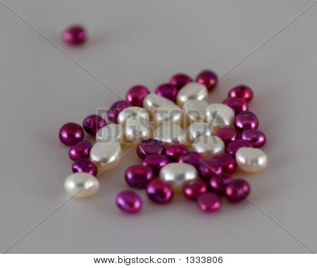 White And Purple Pearls