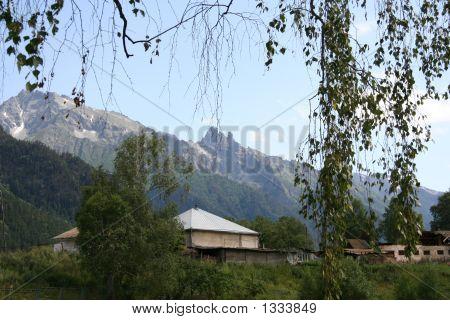Teberda Village
