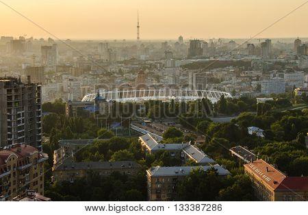 Sunset City Center Kiev, Ukraine