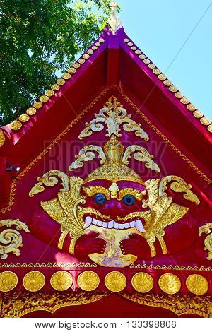 Kho Samui Bangkok In Thailand Incision Of   Buddha Gold  Temple