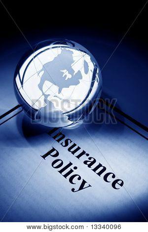 Globe und Versicherung