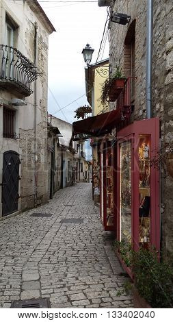 memories of pietrelcina birthplace of St. pious home to much tourism