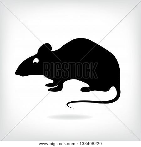 Vector rat for your design. Rat Logo, Rat Tattoo, Rat Icon,