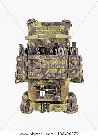 Bulletproof vest bulletproof multifunctional protective vest Camouflage