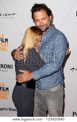 LOS ANGELES - JUN 6:  Dorie Barton, Jeremy Sisto at the Girl Flu Premiere at the Arclight Theater on June 6, 2016 in Culver City, CA