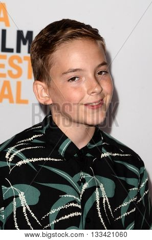 LOS ANGELES - JUN 6:  Jonah Beres at the Girl Flu Premiere at the Arclight Theater on June 6, 2016 in Culver City, CA