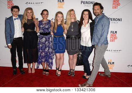 LOS ANGELES - JUN 6:  D Josef, Katee Sackhoff, Judy Reyes, Jade Pettyjohn, Dorie Barton, H Matarazzo, Jeremy Sisto at the Girl Flu Premiere at the Arclight Theater on June 6, 2016 in Culver City, CA