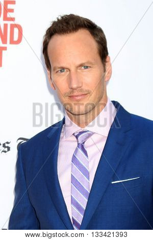 LOS ANGELES - JUN 7:  Patrick Wilson at the 2016 Los Angeles Film Festival - The Conjuring 2 Premiere at TCL Chinese Theater IMAX on June 7, 2016 in Los Angeles, CA