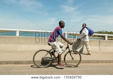 Cycling As Primary Means Of Transport In Malawi