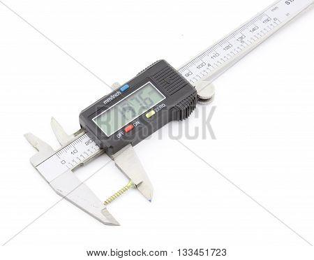 Digital caliper, screw measuring, accuracy measurement equipment