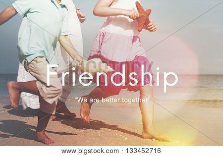 Friendship Together Togetherness Partner Friends Concept