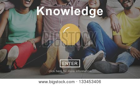 Knowledge Learning Internet Website Technology Concept