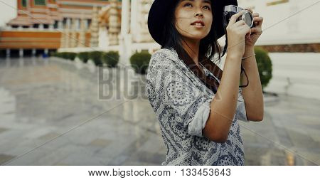 Photographer Travel Sightseeing Wander Hobby Concept