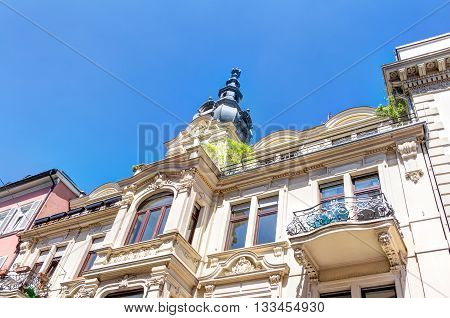 Historic Architecture In Wiesbaden