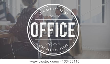 Office Building Workplace Headquarters Business Concept