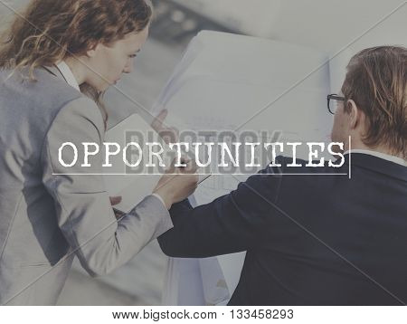 Opportunity Corporate Business Choice Chance Concept