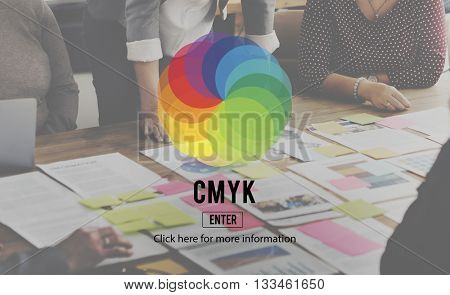 CMYK RGB Colour Color scheme Creativity Concept
