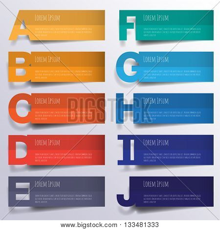 Abstract 3D Digital Illustration Infographic. Vector Illustration Can Be Used For Workflow Layout, D