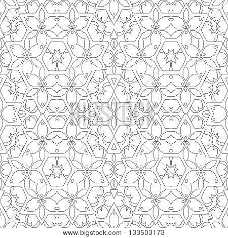 Difficult confused web seamless background EPS8 - vector graphics.