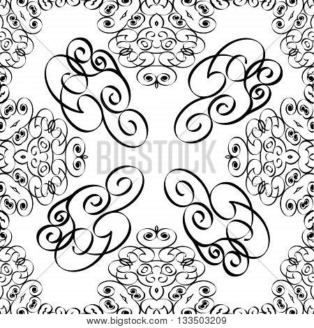 Seamless pattern abstract EPS8 - vector graphics.