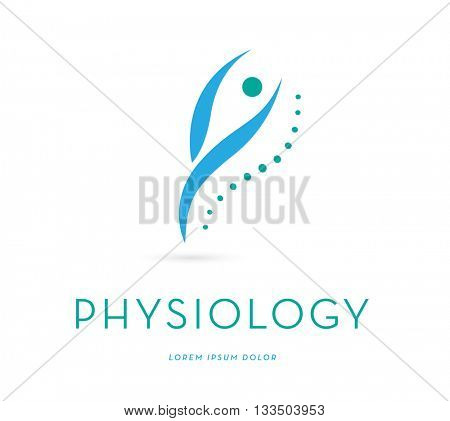 Wellness , vector logo / icon