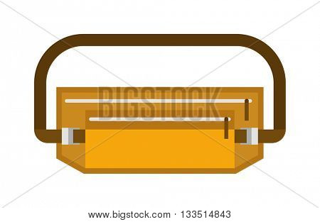 Medical accessories breath doctors mask medicine health hospital care surgical equipment vector icon.