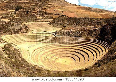 Moray no vale Sagrado, Arquitetura Inca no Peru