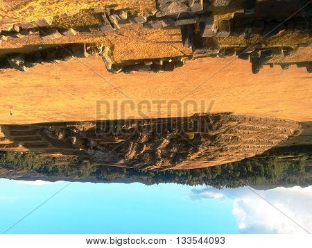 Fortaleza Inca, Sacsayhuaman fica no Vale Sagrado no Peru