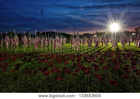 Field of Dreams Memorial Day celebration in Westerville Ohio