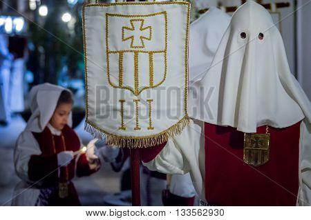 Baeza, Andalusia, Province Of Jaén, Spain - Semana Santa