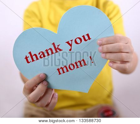 Thank you for your mother