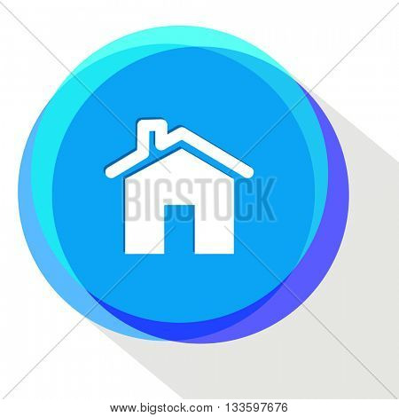 home. Internet template. Vector icon.