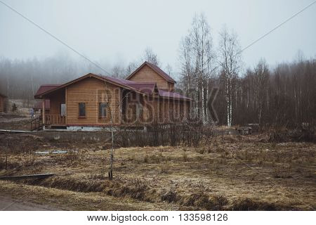 Country House In The Village In The Spring