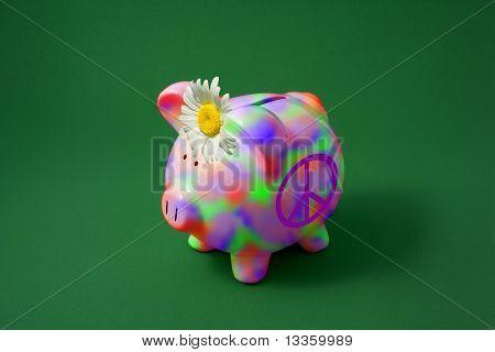 Hippie Piggy