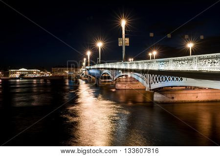 Blagoveshchensky Draw Bridge