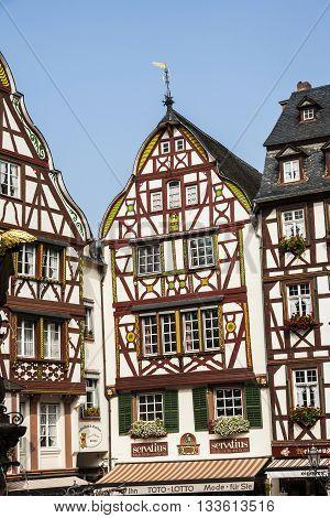 Frame House In Bernkastel-kues