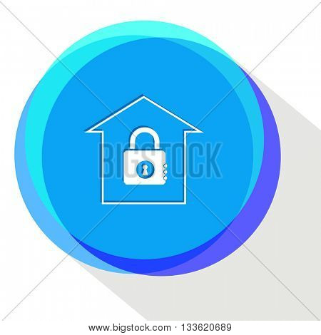 bank. Internet template. Vector icon.