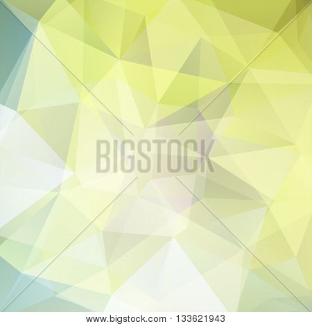 Bstract Polygonal Vector Background. Light Geometric Vector Illustration. Creative Design Template.