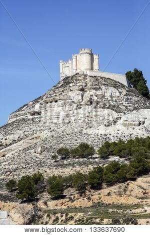 Penafiel Castle Valladolid Province Castile and Leon Spain