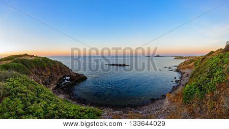 Wide Angle Wild Nature Beach Panoramic Landscape