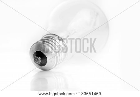 Tungsten bulb fuse isoated on white background