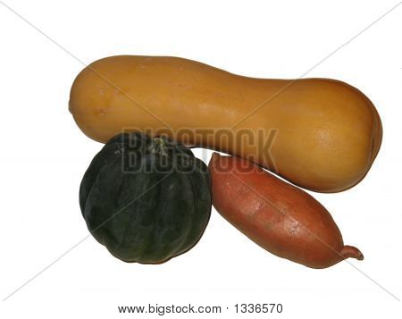 Three Winter Vegetables